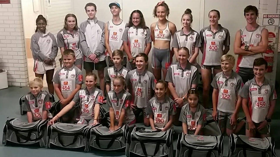 Redcliffe Little Athletics 2019 Regional participants ready to head to Townsville
