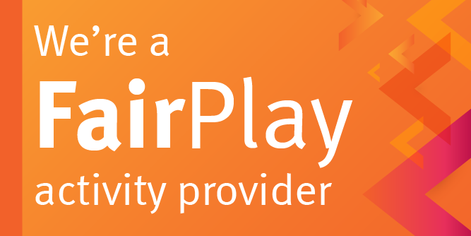 We're a FairPlay activity provider